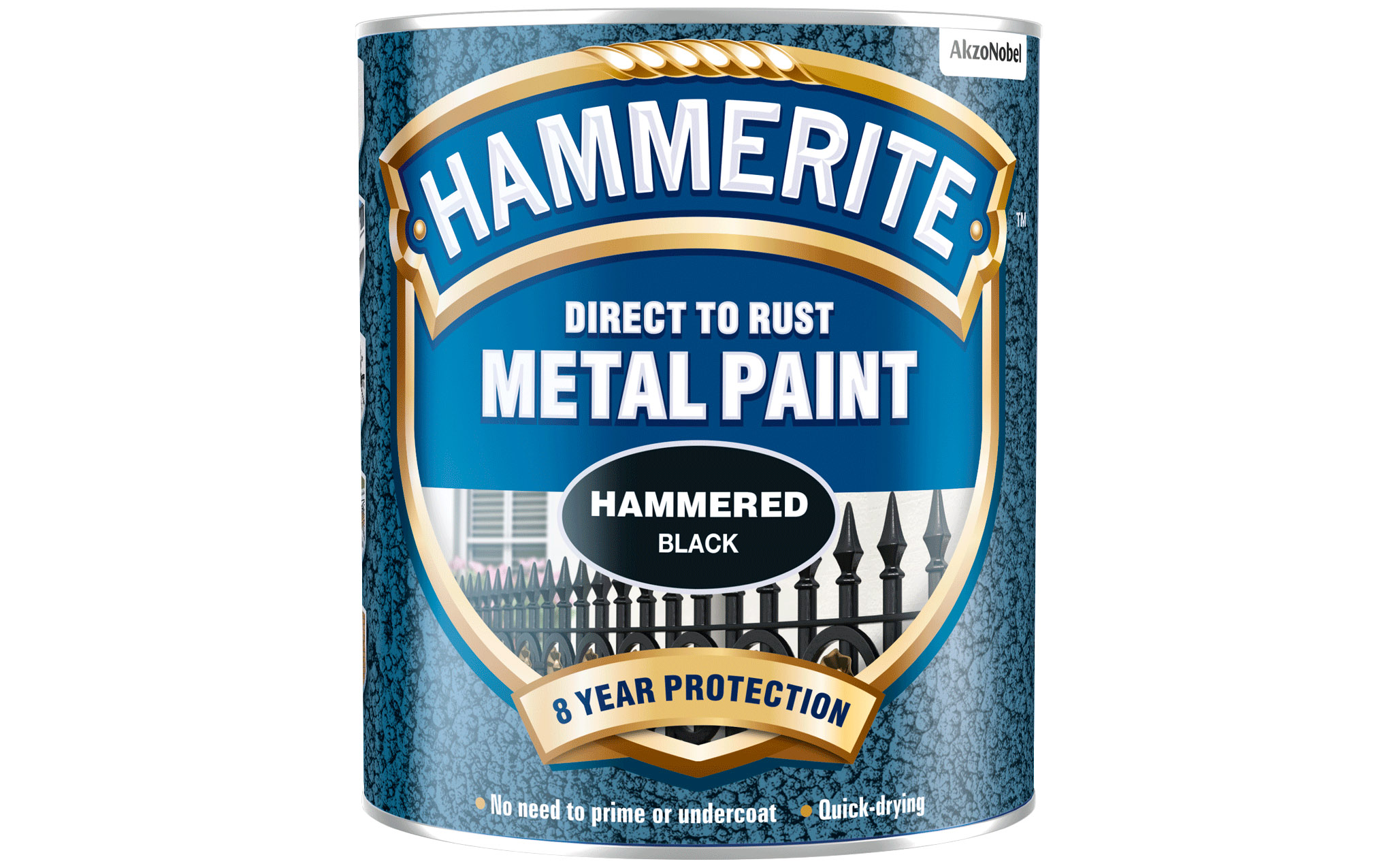direct to rust hammered black