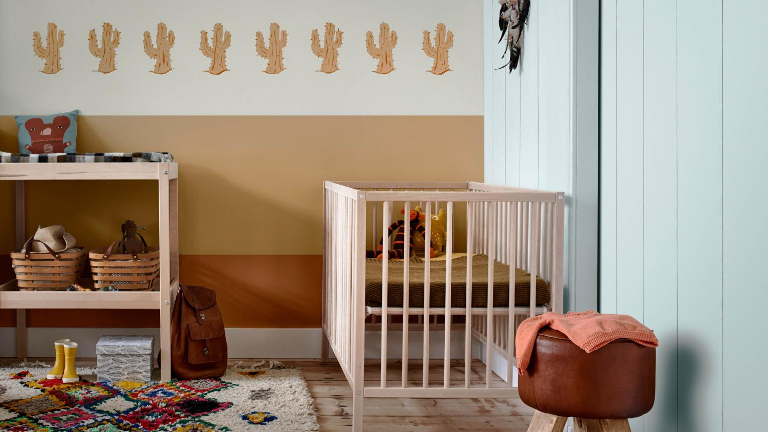 Traditional nurseries are lovely, but if you'd like to try something a little different then consider choosing a unique theme for your baby's room.