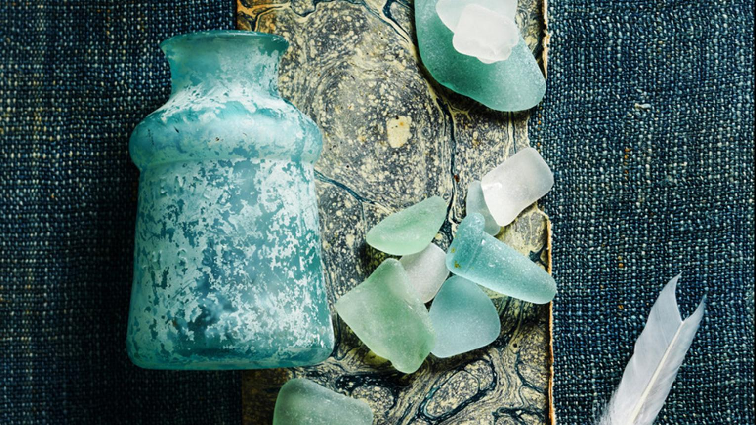 Recreate the bliss of seaside holidays with a colour scheme based around aquatic blues.