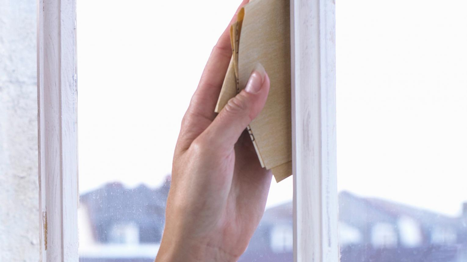 Freshly painted window frames can transform a room. Follow these tips on prepping wood or metal frames to get the best results.