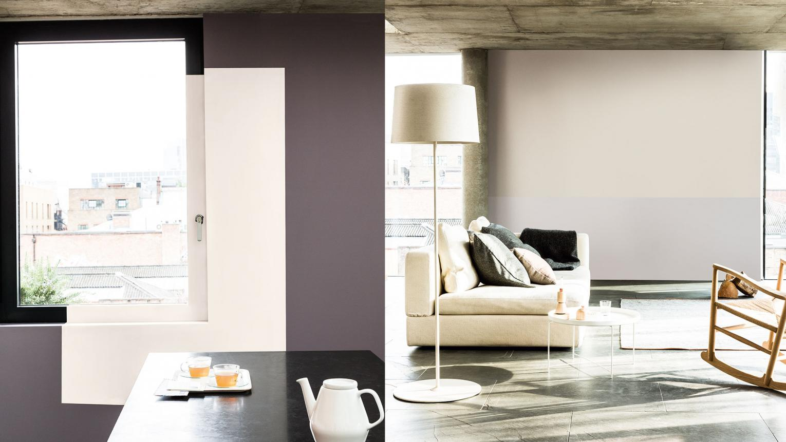 Discover how to use paint to reclaim forgotten areas like windows and alcoves in your home – a big trend for 2015.