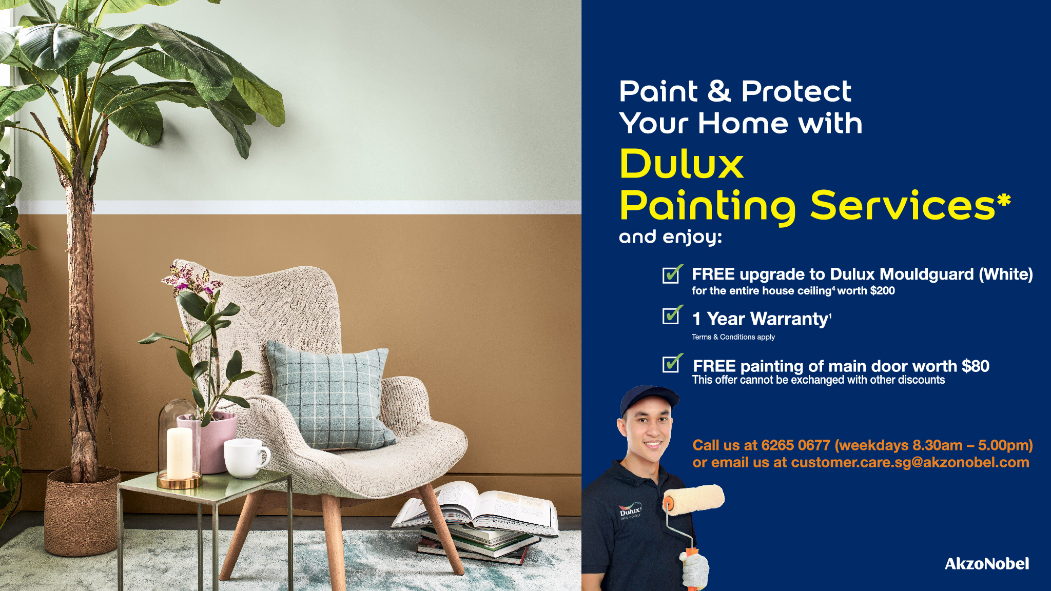Dulux Hassle Free Painting Services