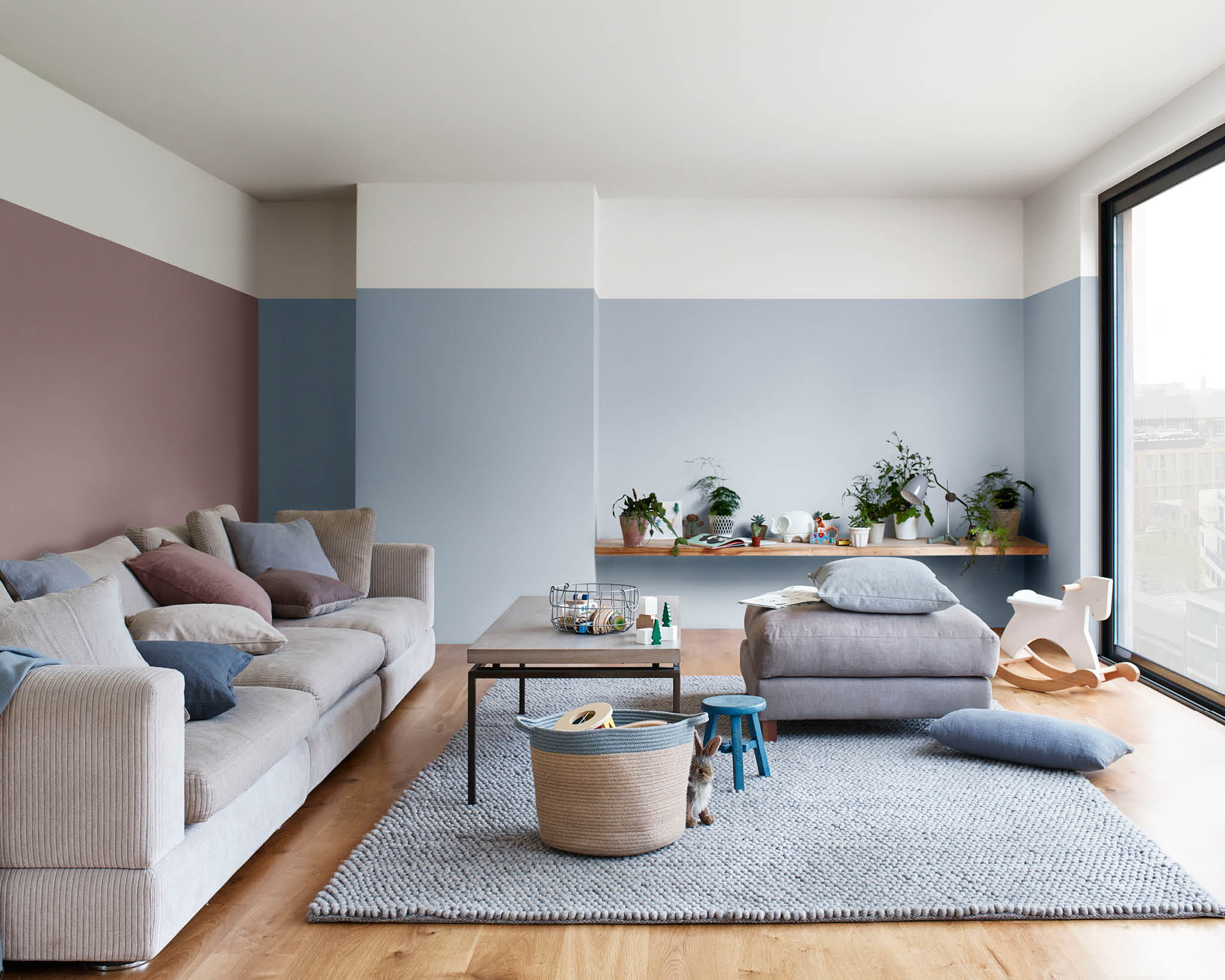 8 ways to change up your living room with Dulux Colour of the Year